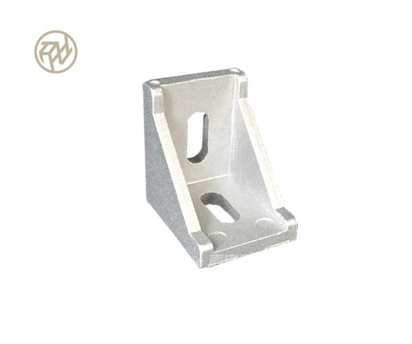 普通角件-45°角件-45度铝型材角件-工业铝型材固定-40、80连接件