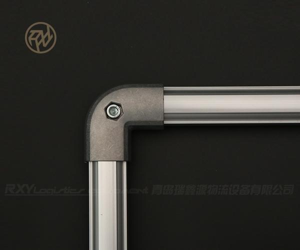 90°外包扣-线棒外包连接件-铝型材线棒90度连接件