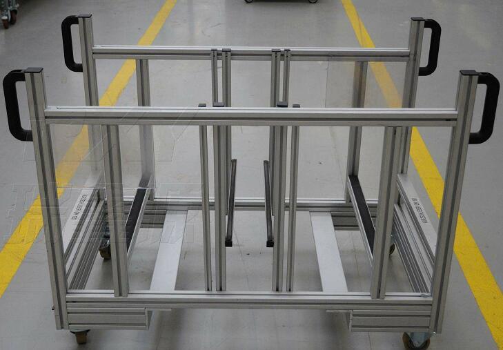 铝型材框架怎么连接?