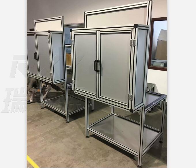 铝型材背面箱工作台