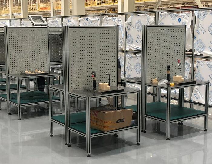 铝型材实训工作台定制