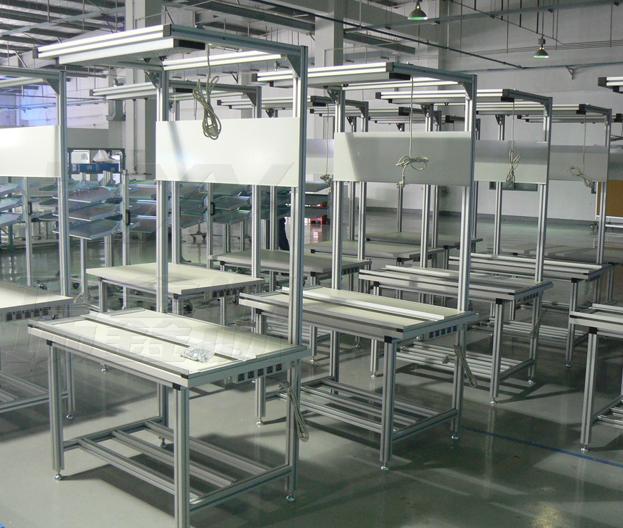 铝型材车间工作桌有哪些特点
